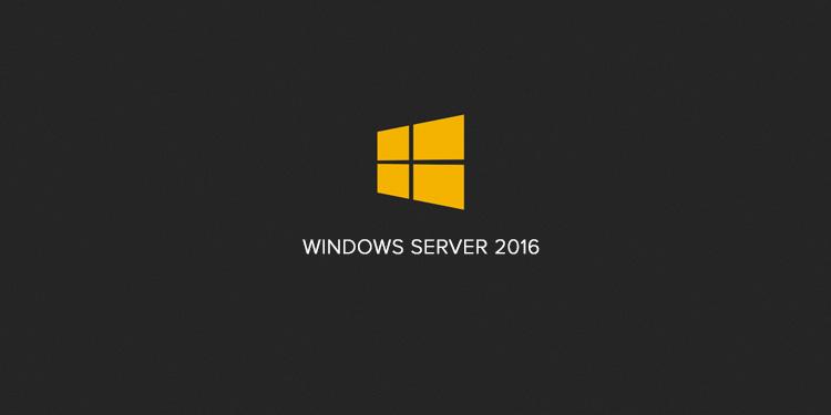 Windows Server 2016 em três edições